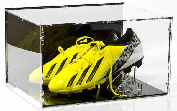 Double Football Boot / Shoe Case with Shoe-Stands