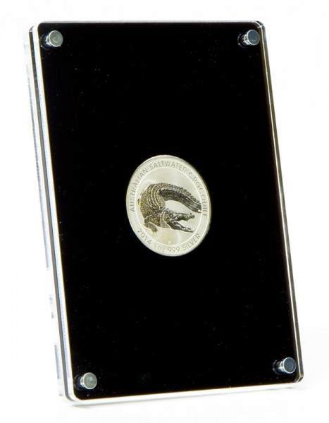 Standing Coin Case for 1oz Silver Coins d:40.7mm