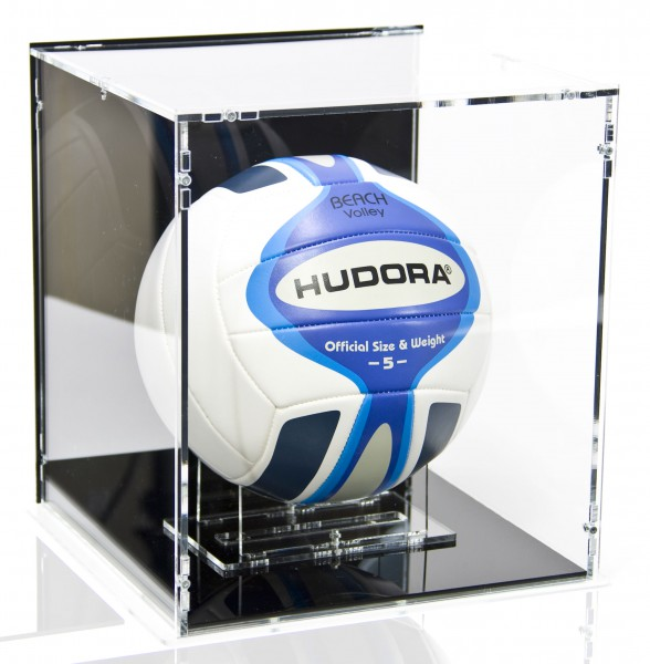 Display Case for Volleyballs and Beach-Volleyballs