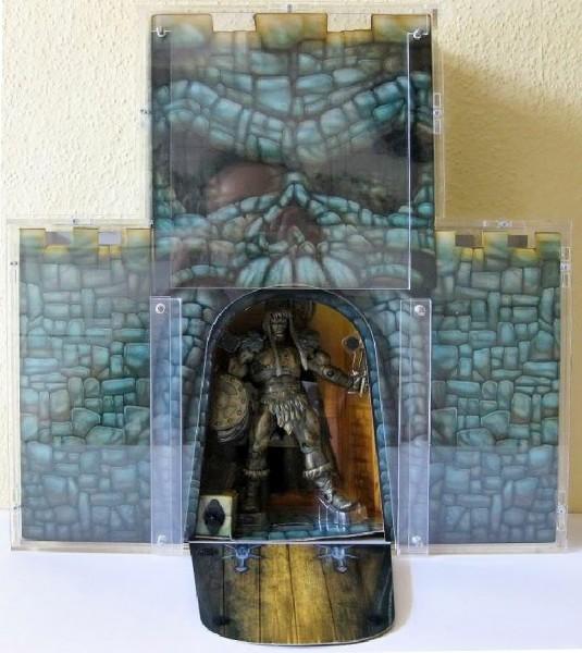 King Grayskull Castle Case - open
