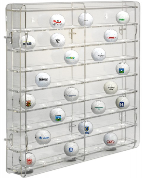 Golf-Ball Display Cabinet