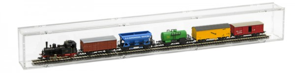 Model Railway H0 Single Compartment Case - 75cm