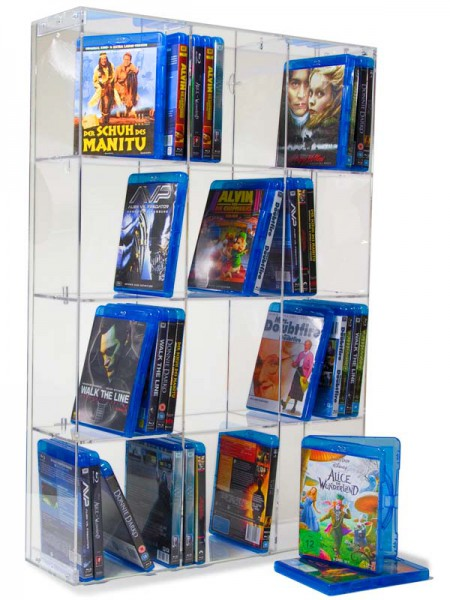 Blu Ray Rack transparent