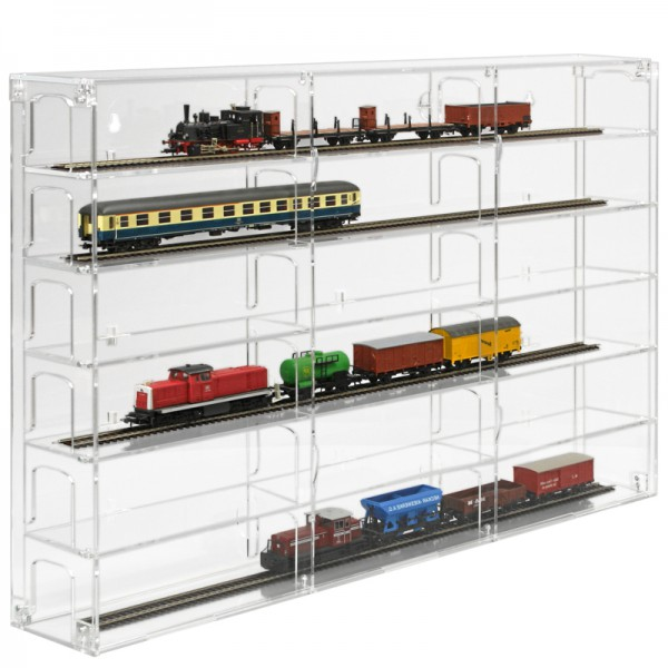 Modular Display Cabinet for Model Trains H0