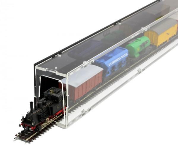 Model Railway N Single Compartment Case - 75cm