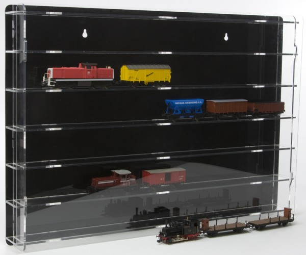 H0 Model Railway Display Cabinet
