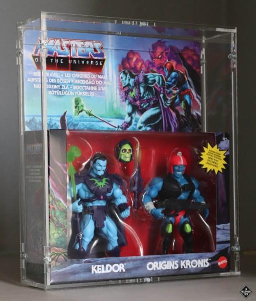 MotU Origins Rise of Evil - Keldor & Kronis - Two Pack Case - W26.0 x D6.8 x H30.8
